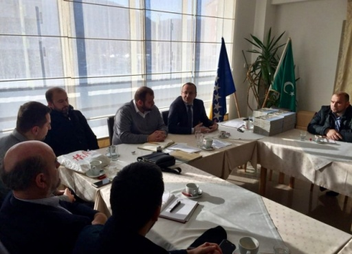 Izabrano rukovodstvo Osnovnog odbora Udruženja Ilmijje Mostar