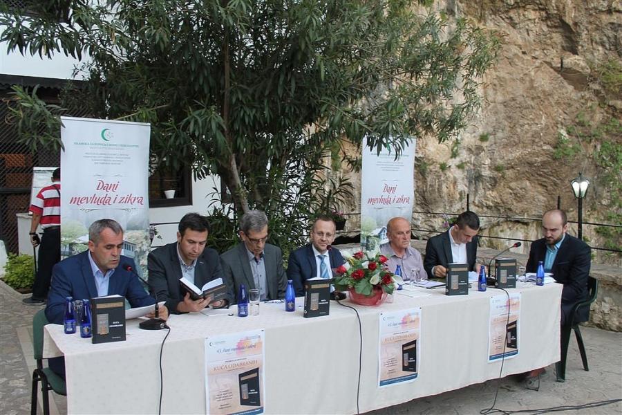 Promocija mevluda Kuća odabranih, autor Mustafa ef. Jelovac