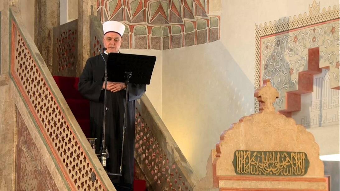 Video: Hutba reisu-l-uleme u Gazi Husrev-begovoj džamiji