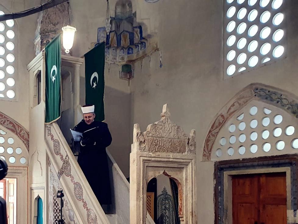 (VIDEO) Hutba mostarskog muftije u Karađoz-begovoj džamiji