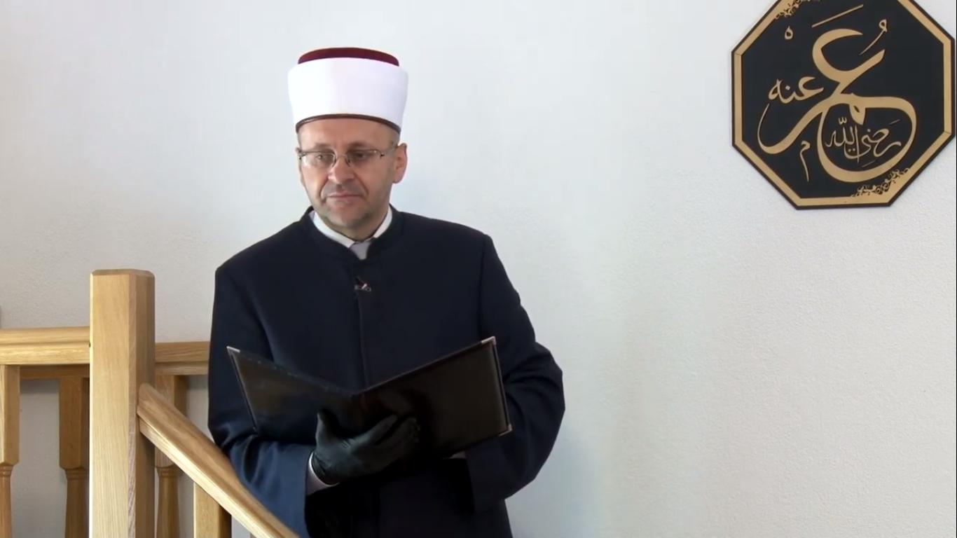 Video: Hutba mostarskog muftije u džematu Orahovice